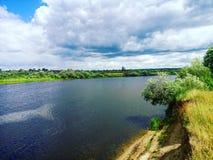 mystic flod Royaltyfri Fotografi