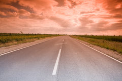 Mystic highway Royalty Free Stock Photos