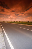 Mystic highway Stock Photography