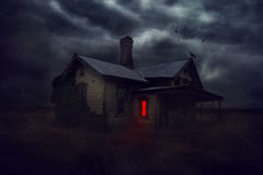 Mystic house. Royalty Free Stock Photo