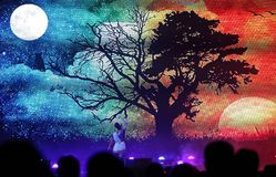 Mystic India Show at Bahrain Stock Image