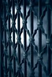Mystic iron Gate Royalty Free Stock Photography