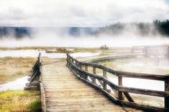 Mystic lake Stock Image