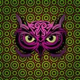Mystic owl shape Royalty Free Stock Photos
