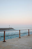 Mystic Pier at Sunset. West Pier at sunset, Port Alfred, Eastern Cape, South Africa Royalty Free Stock Photos
