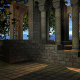 Mystic Place. 3D Render of an Mystic Place vector illustration