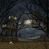Mystic Place. 3D Render of an Mystic Place royalty free illustration