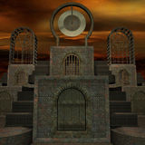 Mystic Place. 3 D Render of an Mystic Place royalty free illustration