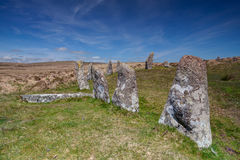 Mystic place in Dartmoor - HDR Image Royalty Free Stock Images