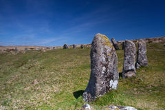 Mystic place in Dartmoor - HDR Image Stock Photo