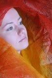 Mystic portrait Stock Images