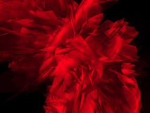 Mystic red shape Stock Photos