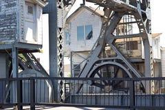 Mystic River Drawbridge Royalty Free Stock Image