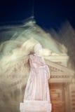 Mystic romanian statue Royalty Free Stock Image