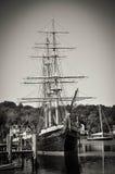 mystic seaport arkivfoton