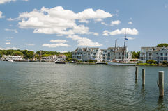 Mystic Seaport CT Stock Image