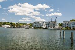 Mystic Seaport CT Stock Image