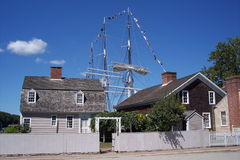 Mystic Seaport Royalty Free Stock Photography