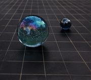 Mystic spheres Stock Photos