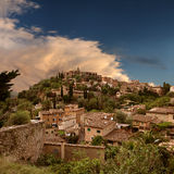 Mystic spirit at the hill of Deia in Mallorca (Spa Royalty Free Stock Photos