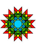 Mystic stained glass Royalty Free Stock Photos
