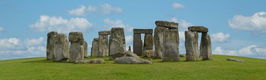 Mystic Stonehenge in England, Europe. Concept for travel, astronomy,religion,esoteric and touristic themes stock image