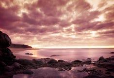 Mystic sunset Royalty Free Stock Photos