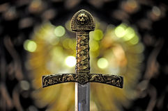 Mystic sword Royalty Free Stock Photo