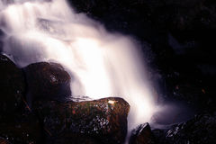 Mystic waterfall. A waterfall at low shutterspeed Royalty Free Stock Image