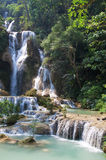 Mystic waterfall Royalty Free Stock Photo