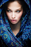 Mystic woman Royalty Free Stock Images