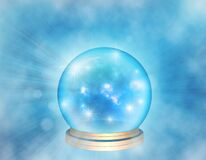 Free Mystical Background With Magic Ball. Stock Images - 170479004