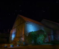 Mystical barn Stock Photography