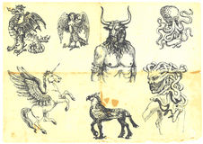 Mystical Creatures Stock Photography