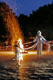 Mystical dance 10 Stock Image