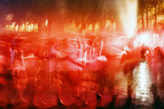 Mystical dance 3 Stock Photos