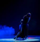 Mystical divination-Modern dance Stock Photography