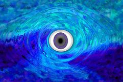 Mystical Eye Royalty Free Stock Photos