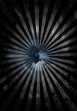 Mystical eye. Peers thru key hole in clouds Royalty Free Stock Images