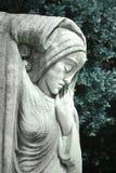Mystical female statue Stock Photos