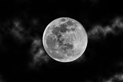 Mystical full moon Stock Images