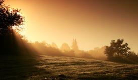 Mystical landscape stock photography
