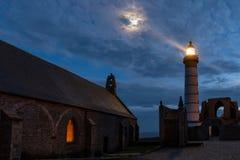 Mystical lighthouse Stock Photo