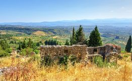 Mystical Mystras Stock Photos