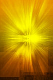 Mystical revelation gold texture Royalty Free Stock Photography