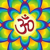 Mystical and sacred manta of Hinduism – OM / Aum Royalty Free Stock Images