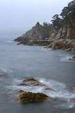 Mystical Sea coast after the typhoon. Royalty Free Stock Photos