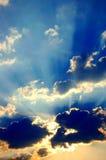 Mystical sky Stock Photo