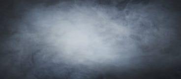 Mystical smoke background. Mystical smoke texture over blank black background stock image