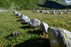 Mystical stones, circle Stock Image
